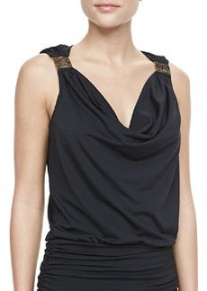 Cape Town Draped Tankini Top   Cape Town Draped Tankini Top