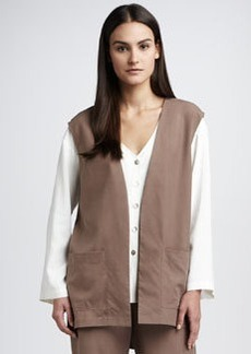 Go Silk Long Silk Vest