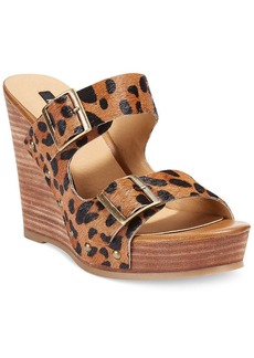 kensie Reid Platform Wedge Sandals