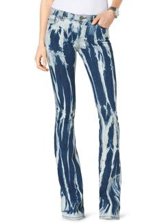 MICHAEL Michael Kors Tie-Dye Flared Jeans