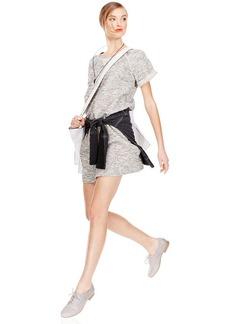 Style&co. Petite Textured Sweatshirt Dress