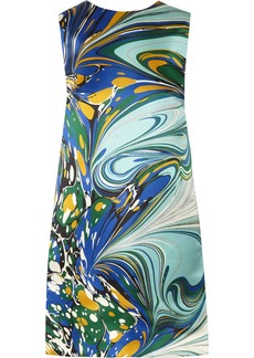 Stella McCartney Barton printed silk-satin dress