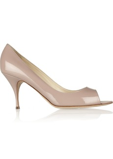 Brian Atwood Carla patent-leather pumps