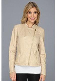 Calvin Klein Moto Faux Leather Jacket