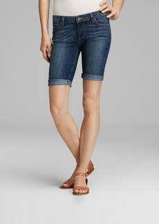 Paige Denim Shorts - Jax Knee Cuff in Luca
