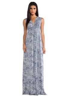 Rachel Pally Long Sleeveless Caftan Dress in Navy