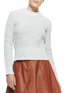 Michael Kors Waffle Crewneck Sweater