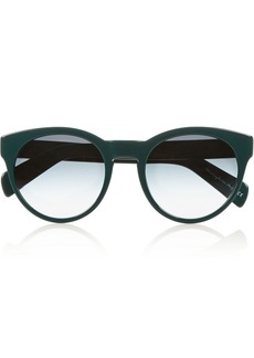 Oliver Peoples Alivia round-frame acetate sunglasses