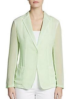 Elie Tahari Abby Crepe Jacket