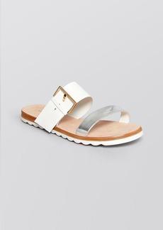 kate spade new york Open Toe Flatbed Sandals - Attitude