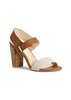 "Calvin Klein ""Caila"" Dress Sandals - Natural"