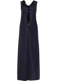 Marni Sequined taffeta gown