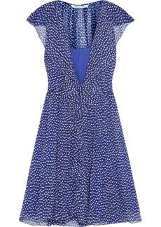 Diane von Furstenberg Winifred printed silk-chiffon dress