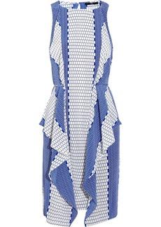 Tibi Printed silk dress