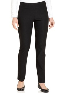 Charter Club Tummy-Control Slim-Leg Pants