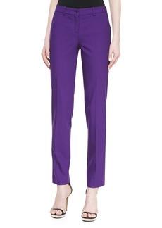 Michael Kors Samantha Skinny Pants, Grape