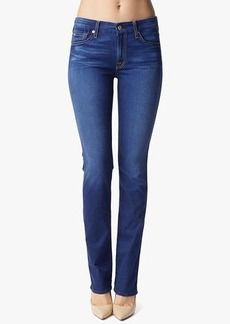 Kimmie Contour Straight in Bright Blue Sateen