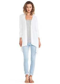 Central Park West Mumbai Cardigan in Ivory