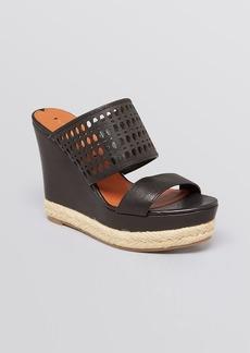 Via Spiga Platform Wedge Sandals - Marisol