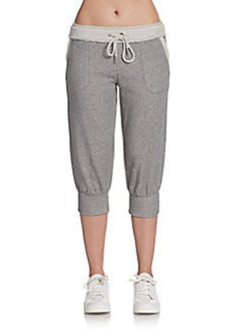 Calvin Klein Performance Reverse Texture Cropped Lounge Pants