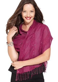 Style&co. Sequin and Lurex Stripe Evening Wrap