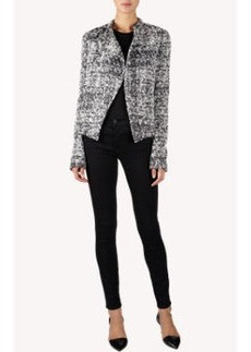 Proenza Schouler Tweed Bouclé Asymmetrical Jacket