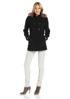 Marc New York by Andrew Marc Women's Harley Wool Cashmere Toggle Front Coat