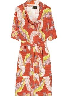 Vivienne Westwood Anglomania Wuupa printed crepe dress