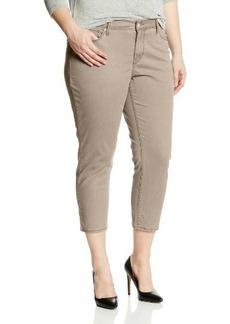 Levi's Women's Plus-Size Mid Rise Skinny Crop Jean 15480