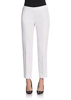 Lafayette 148 New York Flat-Front Ankle Pants