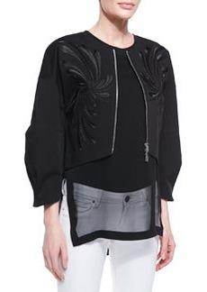 Robert Rodriguez Dandelion Twill Embroidered Jacket