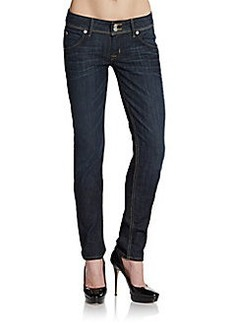 Hudson Collin Whiskered Skinny Jeans
