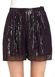 Diane von Furstenberg Sandra Cuvet Sequin Shorts