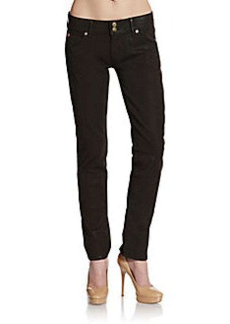 Hudson Collin Coated Skinny Jeans