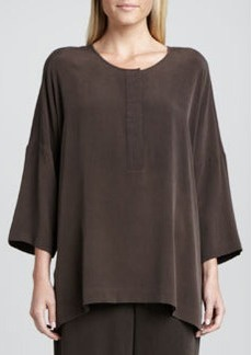 Go Silk Silk Dolman-Sleeve Easy Tunic, Women's