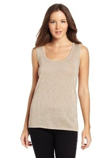 Calvin Klein Women's Metallic Sweater Shell