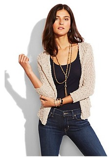 CROPPED SWEATER JACKET