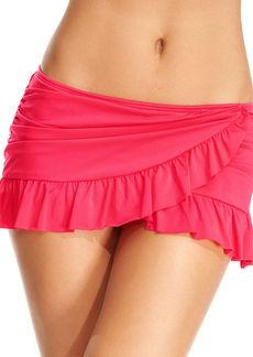 Kenneth Cole Reaction Ruffle Swim Skirt