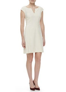 Zac Posen Cap-Sleeve Day Dress