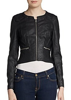 French Connection Riot Faux Leather Jacket