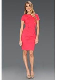 Elie Tahari Davis Double Knit Dress