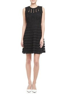 Diane von Furstenberg Dolly Sleeveless Lace Overlay Dress