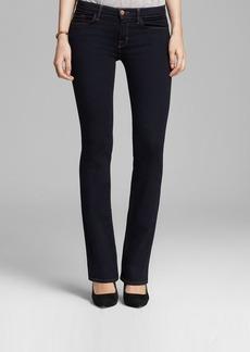 J Brand Jeans - Brooke Mid Rise Slim Boot Leg in Aura