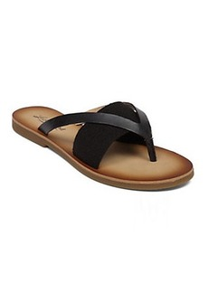BAXX LEATHER FLAT SANDAL