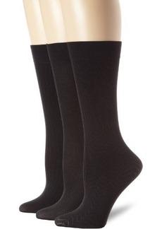 Calvin Klein Women's 3 Pack Openwork Trouser Socks