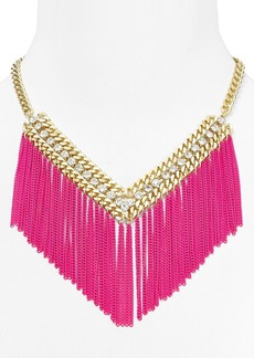 ABS by Allen Schwartz Copacabana Fringe Necklace, 18""