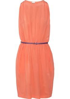 M Missoni Belted silk dress