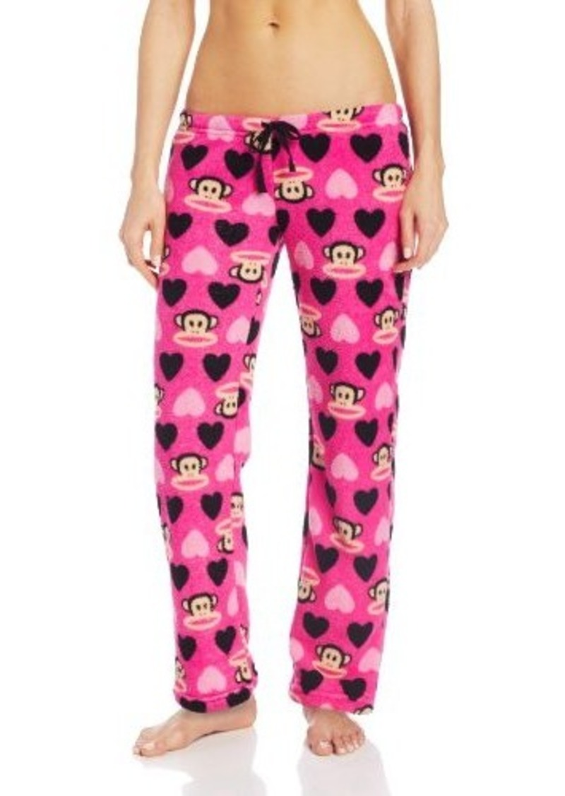 Paul Frank Junior's Plush Julius Heart Print Pajama Pant