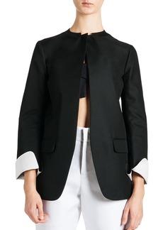 Jil Sander Tulip-Bottom Techno Jacket