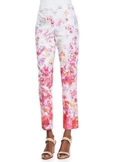 Elie Tahari Lindley Floral-Print Pants
